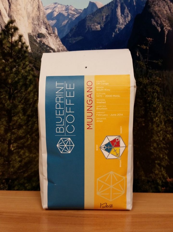 Congo Muungano from Blueprint Coffee