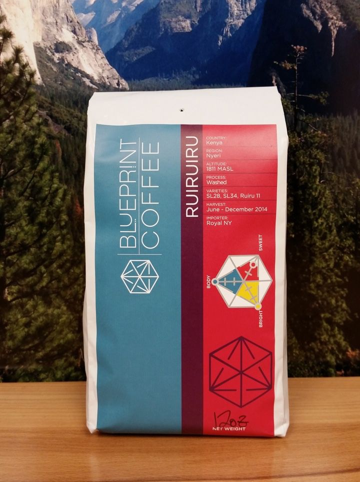 Kenya Ruiruiru from Blueprint Coffee