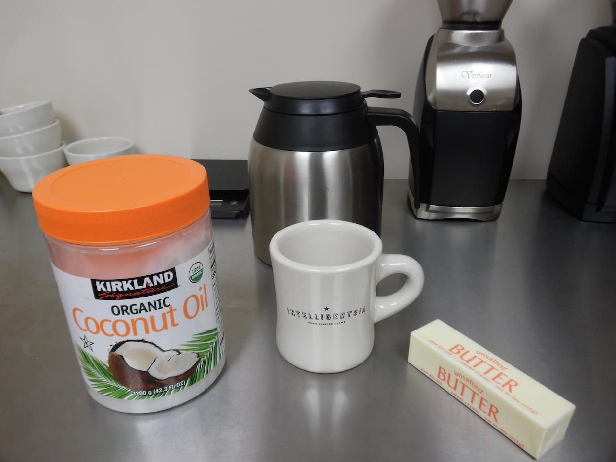 We tried out bulletproof coffee…