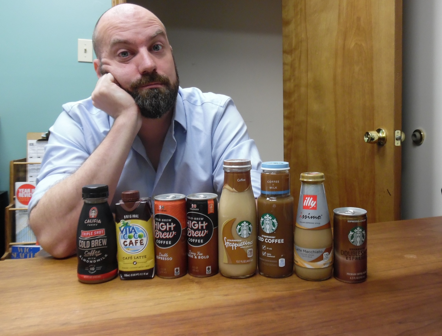 We tasted 'Ready to Drink' coffee from national brands