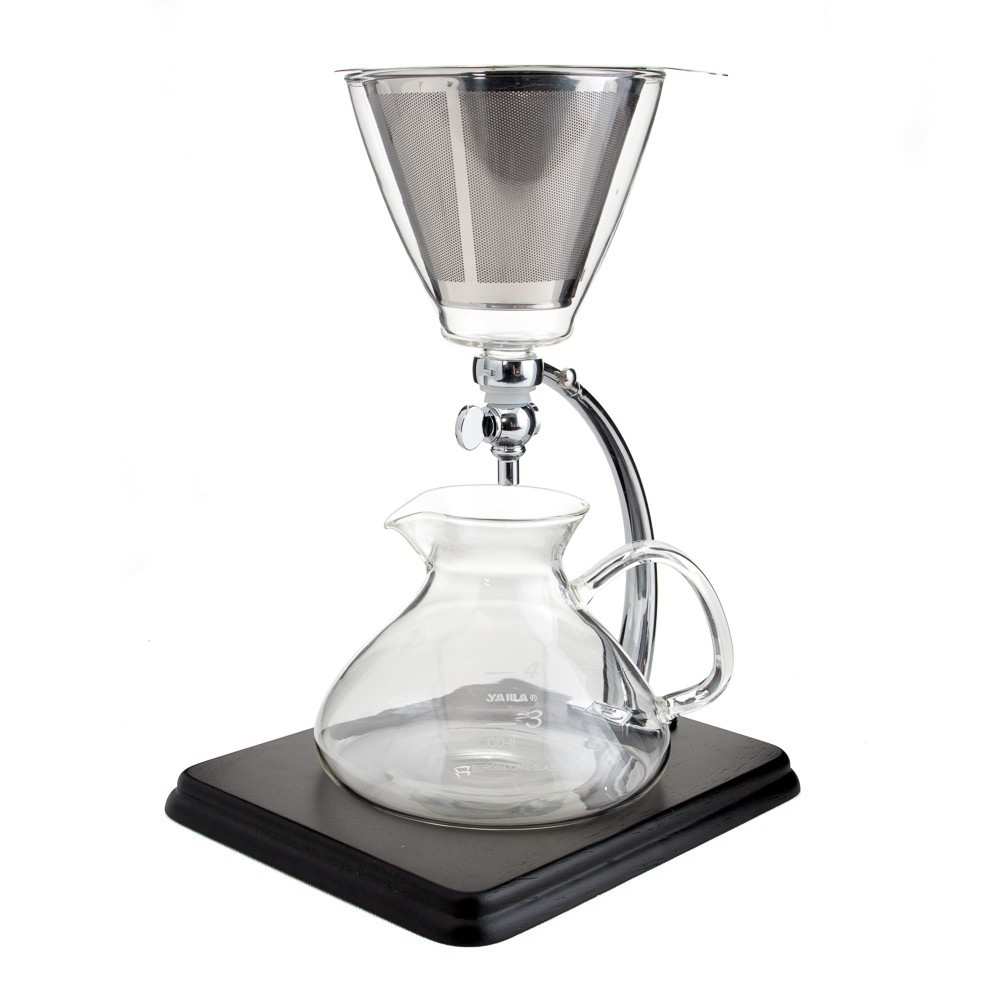 Versatile and beautiful, the Yama Silverton dripper is a conversation piece for your kitchen