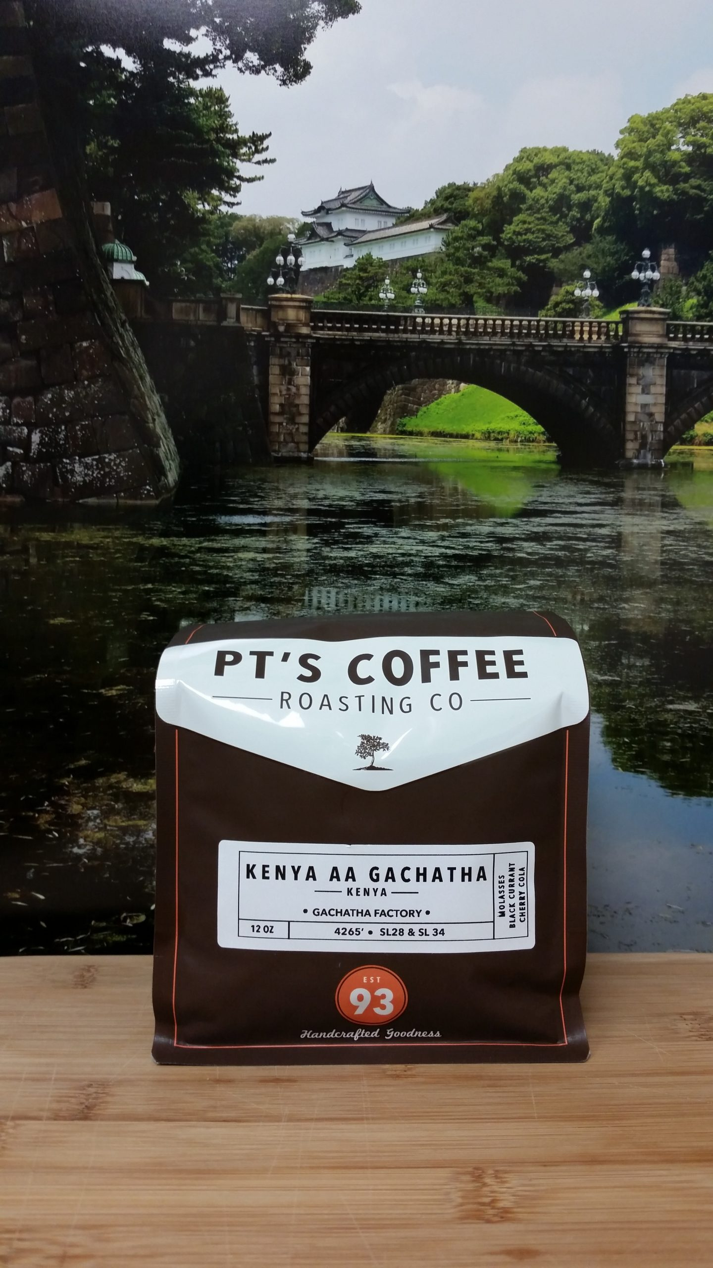 Kenya Gachatha AA from PT's Coffee Roasting Co.