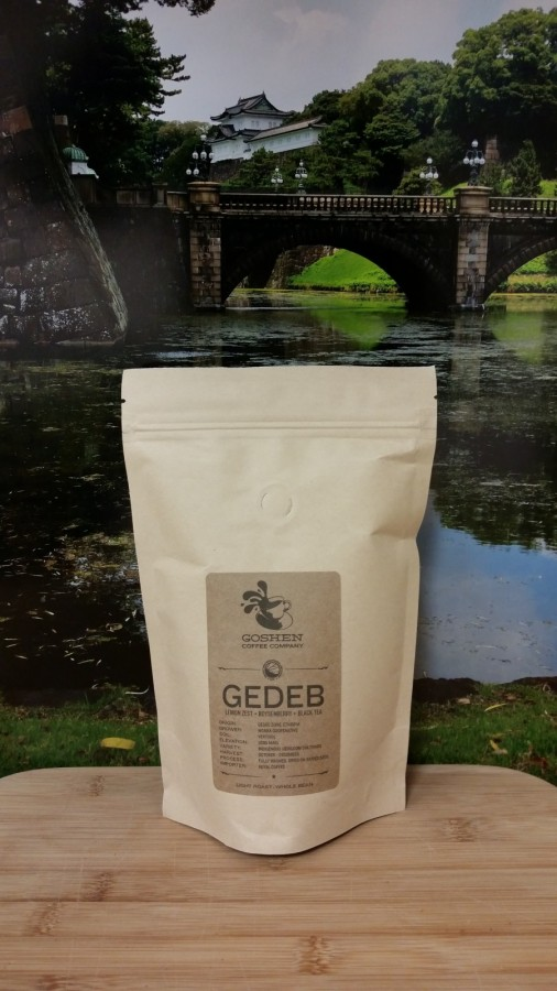 Ethiopia Gedeb from Goshen Coffee