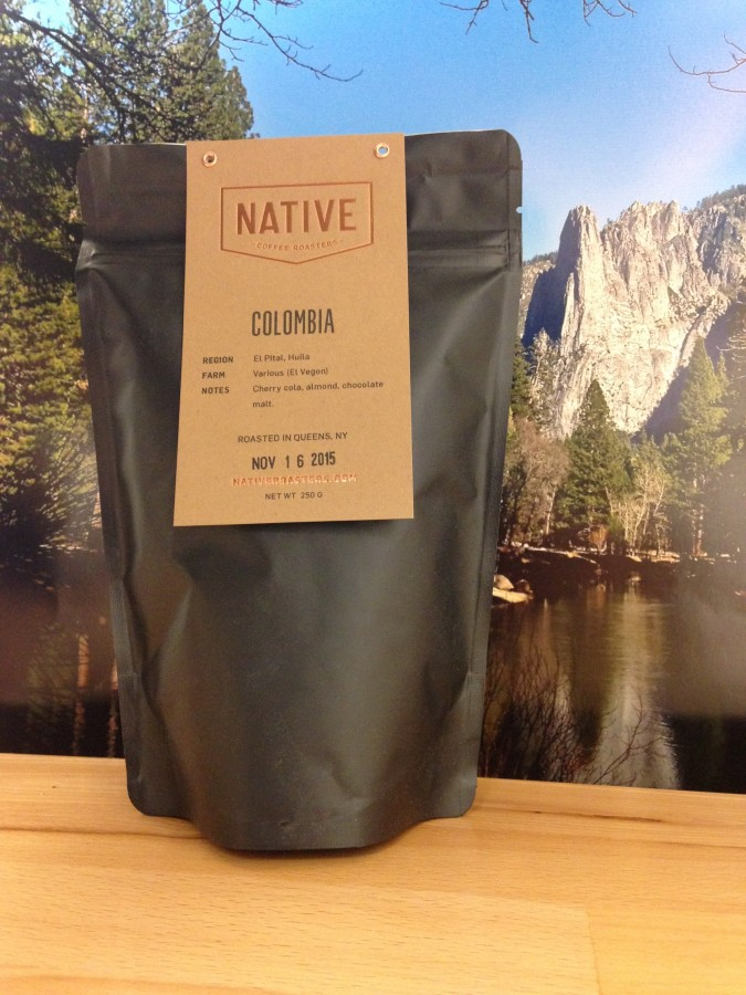 Colombia El Pital From Native Coffee Roasters