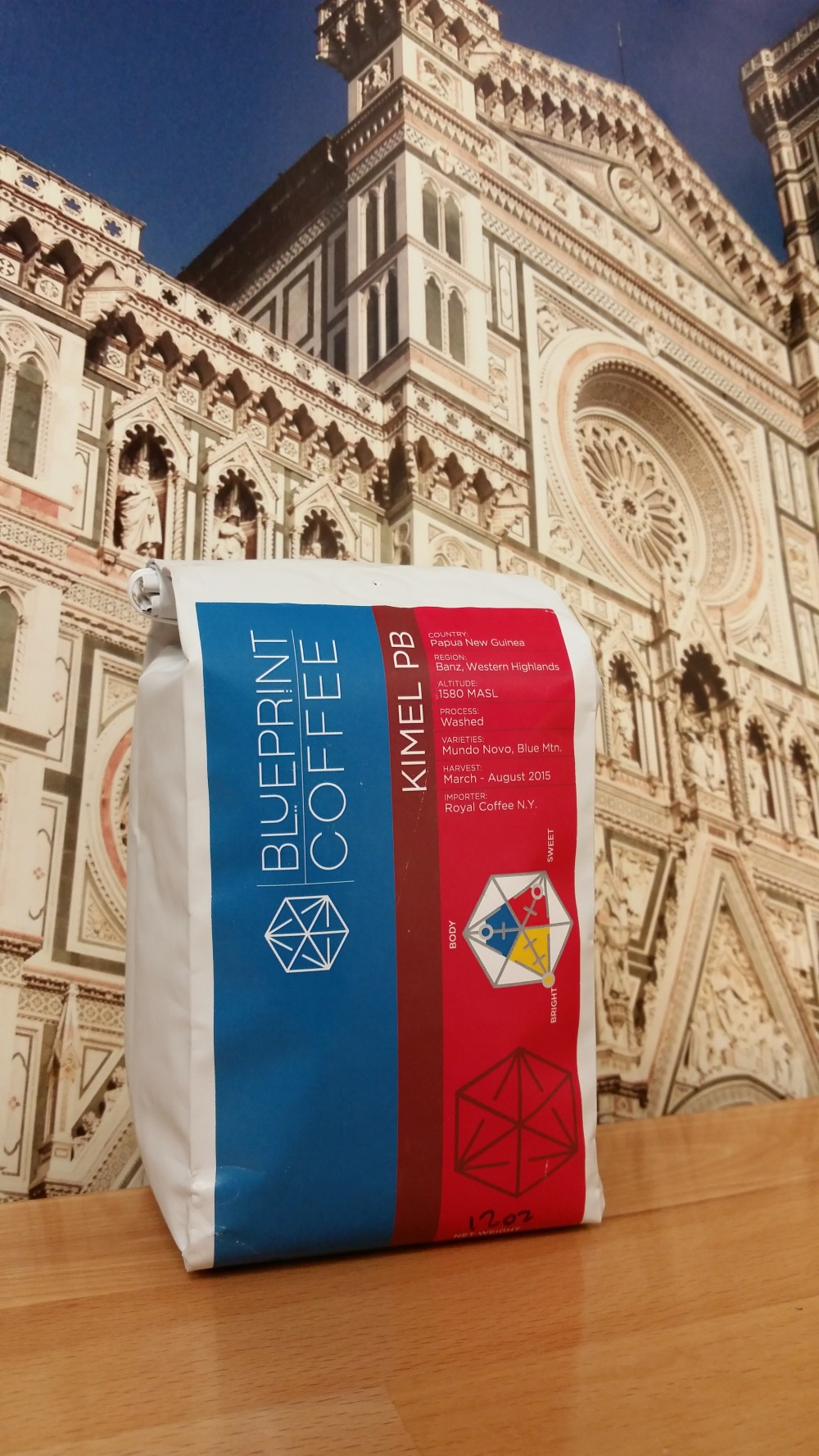 Papua New Guinea Kimel PB from Blueprint Coffee