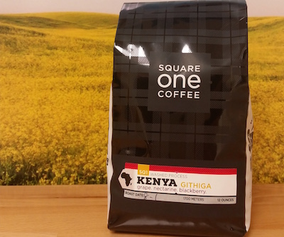 Kenya Githiga from Square One Coffee