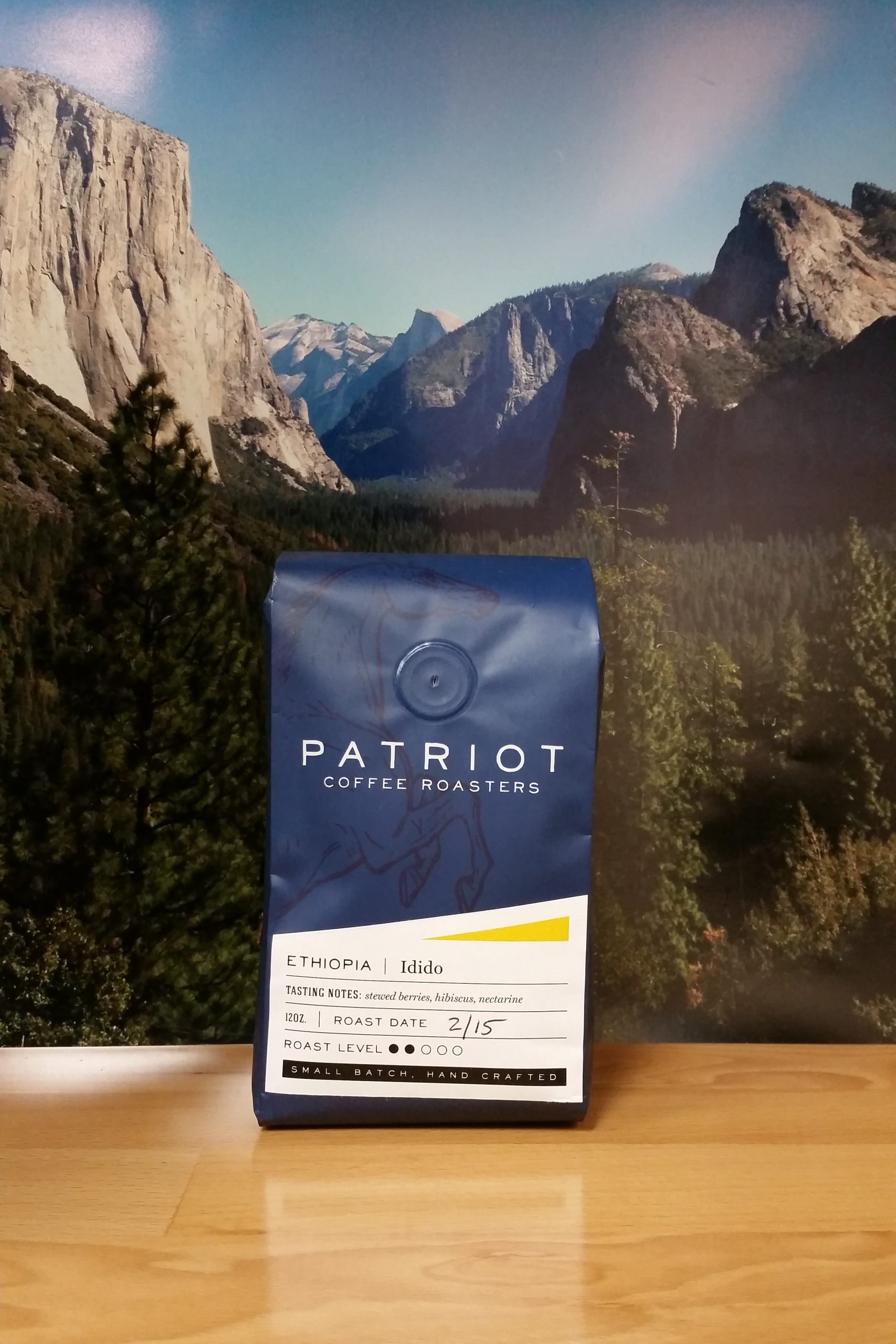 Ethiopia Yirgacheffe Idido from Patriot Coffee Roasters