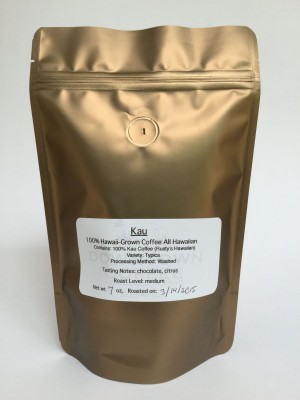100% Ka'u Coffee from Downtown Coffee