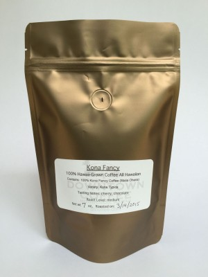 100% Kona Coffee from Downtown Coffee