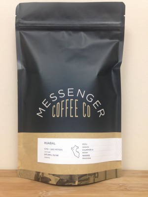 Peru Huabal from Messenger Coffee