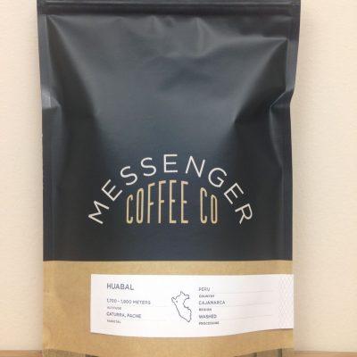 Peru Huabal from Messenger Coffee