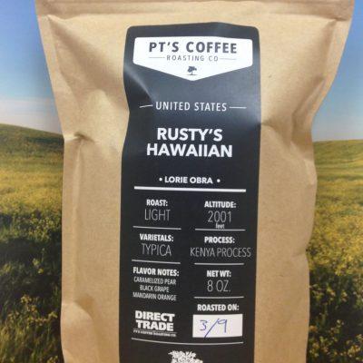 Rusty's Hawaiian Kenya Typica from PT's Coffee
