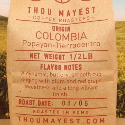 Colombia Popayan Tierradentro from Thou Mayest