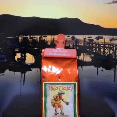 Kona Red Bourbon Peaberry from Hula Daddy Coffee