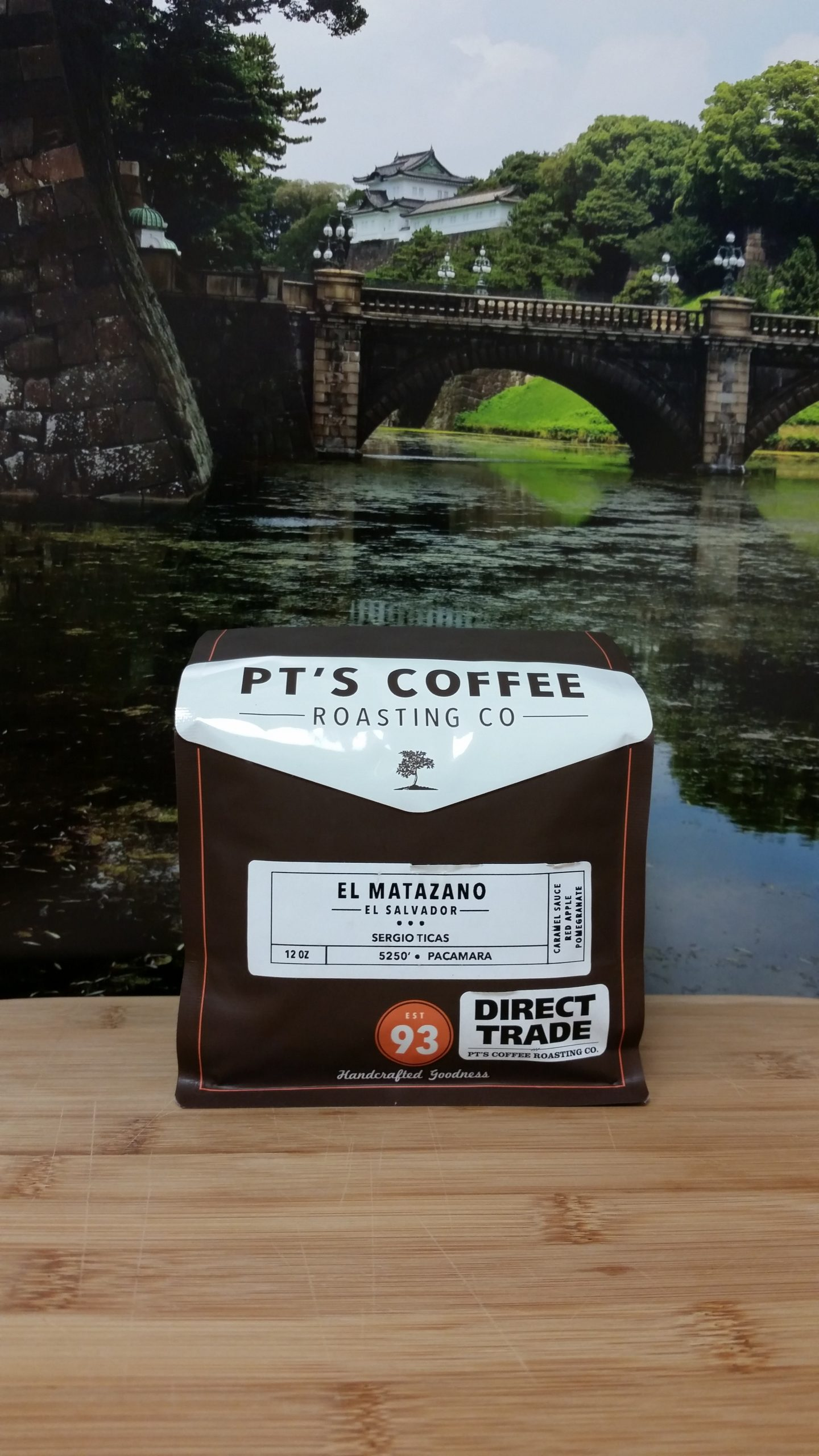 El Salvador El Matazano by PT's Coffee Roasting Co.