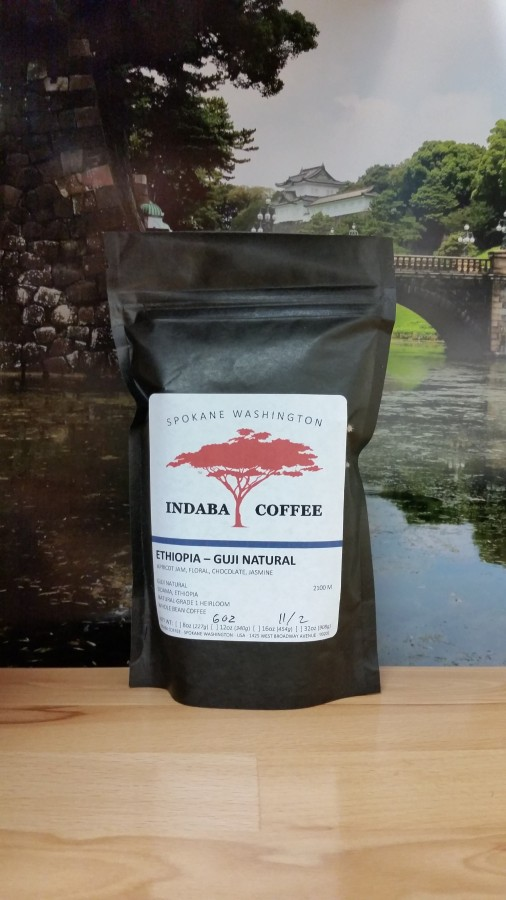 Ethiopia Guji Natural from Indaba Coffee