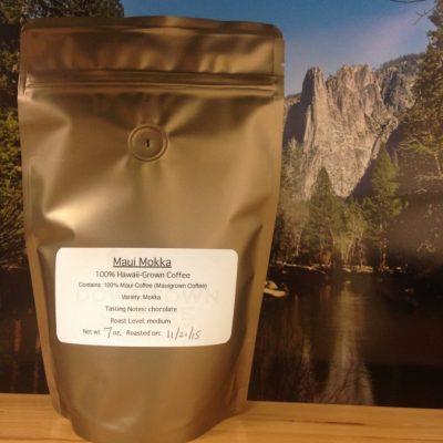 Maui Mokka from Downtown Coffee