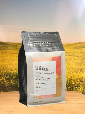 Kenya Wahundura from Evocation Coffee