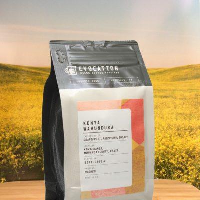 Kenya Wahundura from Evocation Coffee