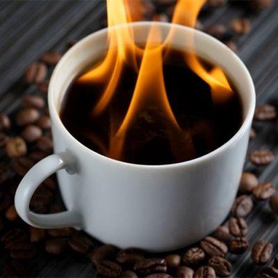 Burning Coffee