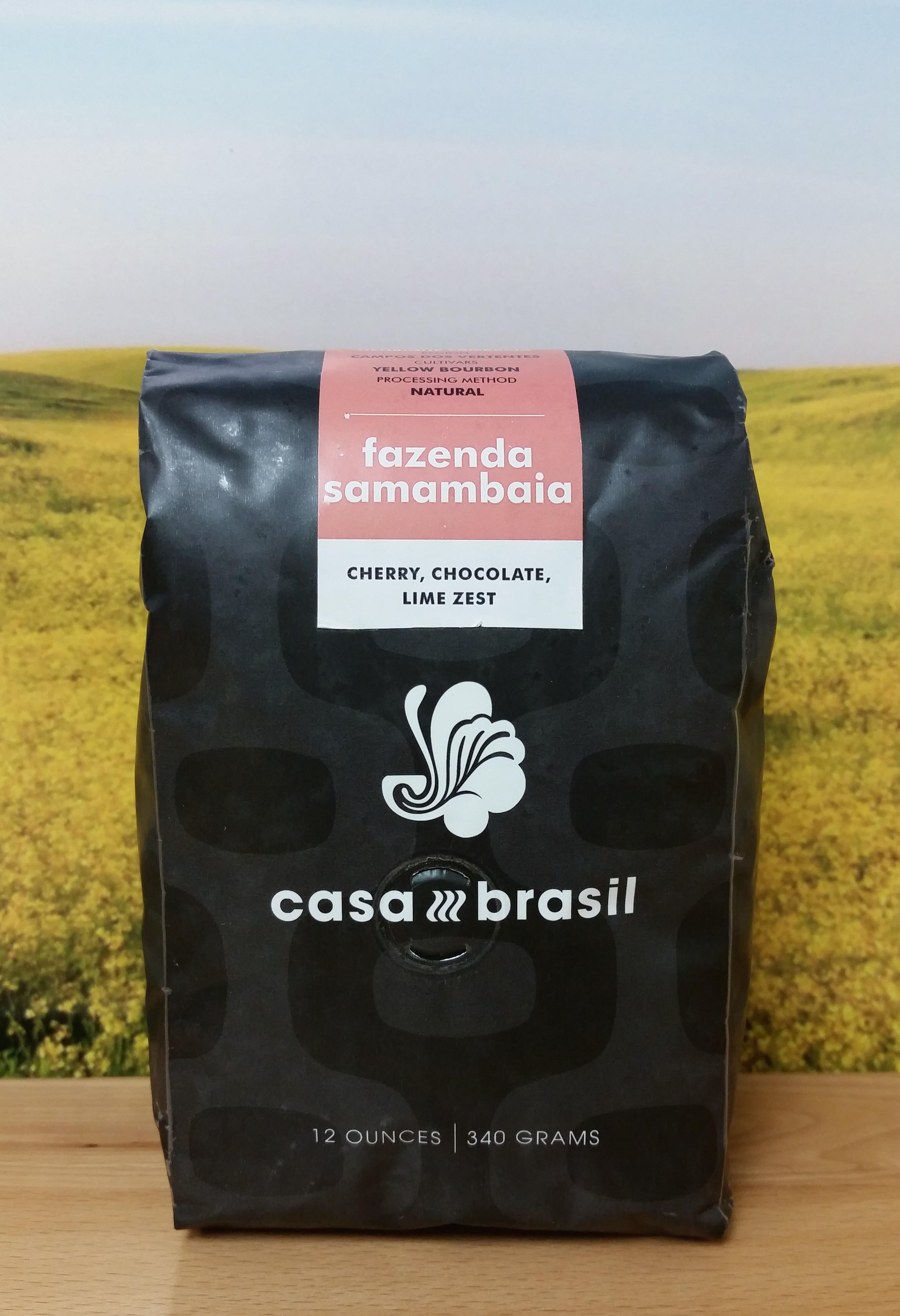 Brazil Fazenda Samambaia by Casa Brasil Coffees