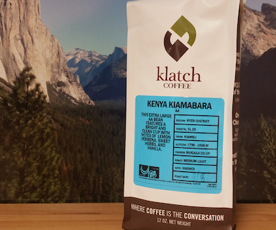 Kenya Kiamabara from Klatch Coffee