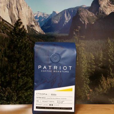 Ethiopia Yirgacheffe Idido from Patriot Coffee Roasters