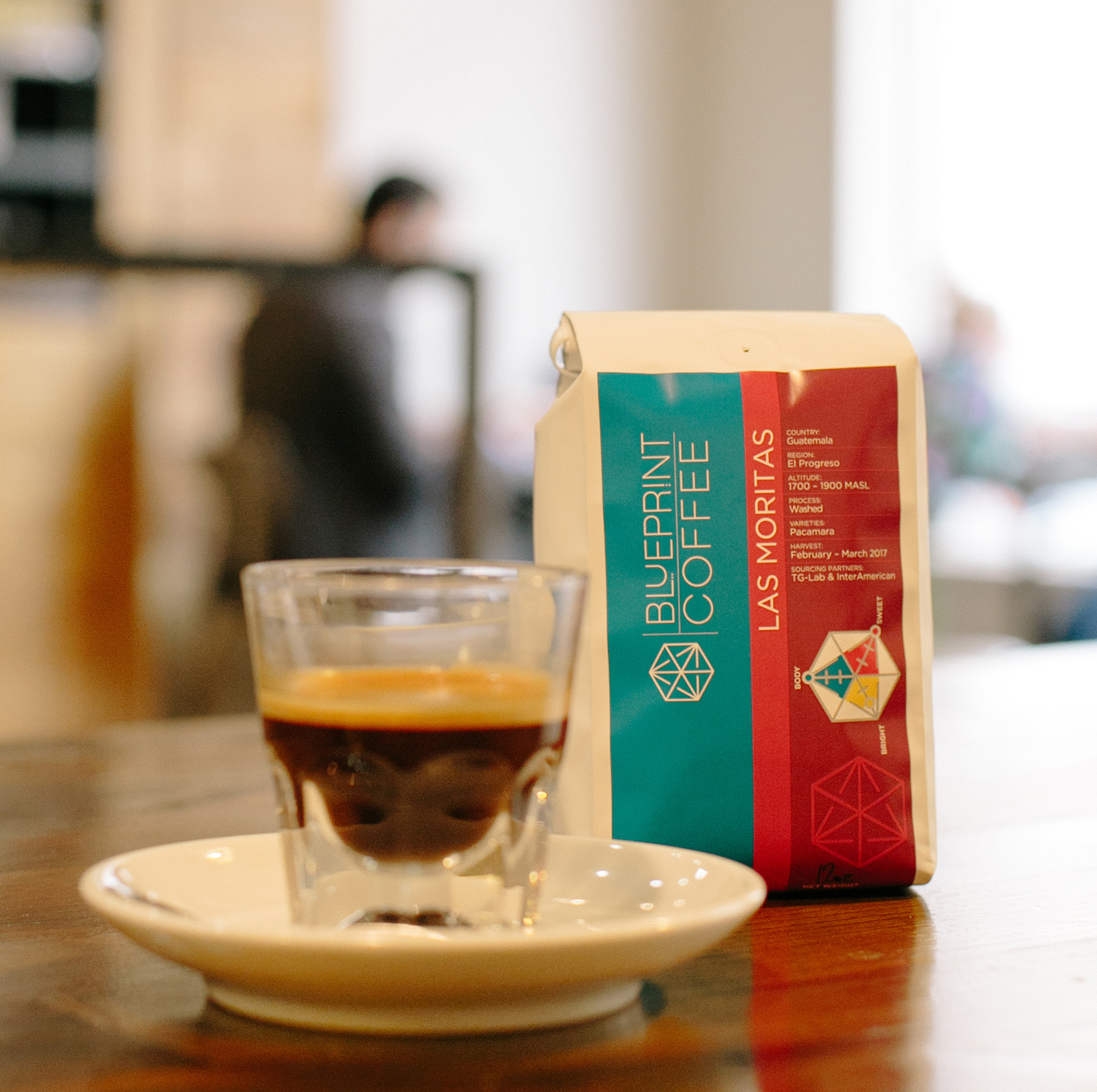 Guatemala Las Moritas from Blueprint Coffee is Bright – Clean – Sweet